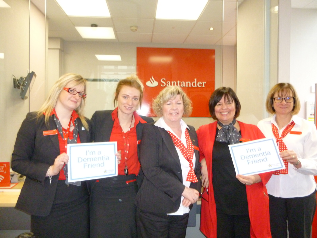 Dementia Friendly Ilkley Action - Santander 2016