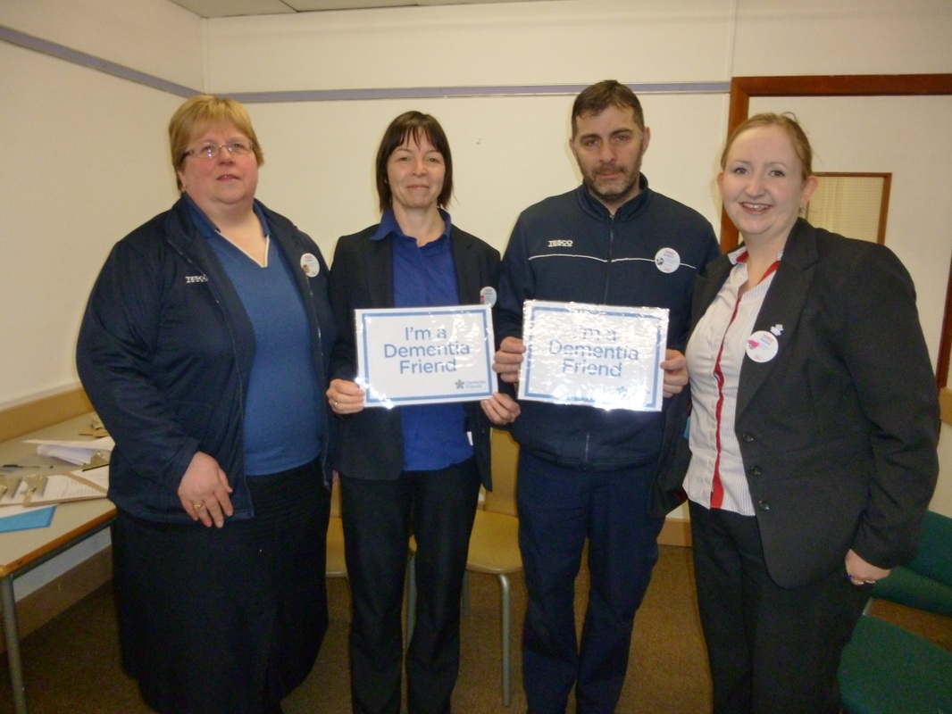 Dementia Friendly Ilkley Action - Tesco Ilkley - February 2016