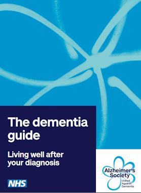 cover of the Dementia Guide 2021 as supplied by the Alzheimer's Society