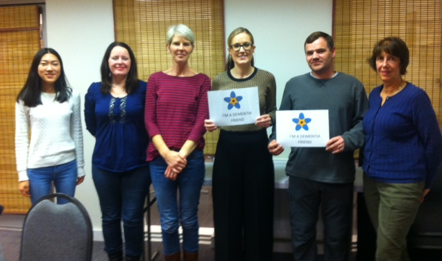 Dementia Friends Ilkley Action - DF Session @ Clarke Foley October 2018